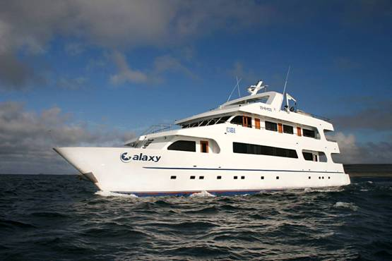 Galaxy Yacht first class, Galapagos