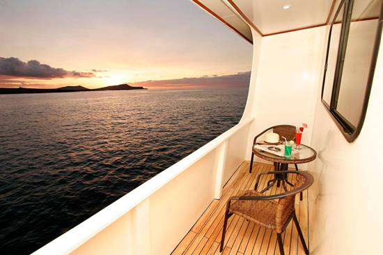 Queen Beatriz catamaran yatch, luxury class, Galapagos